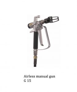 G15 airless manual gun